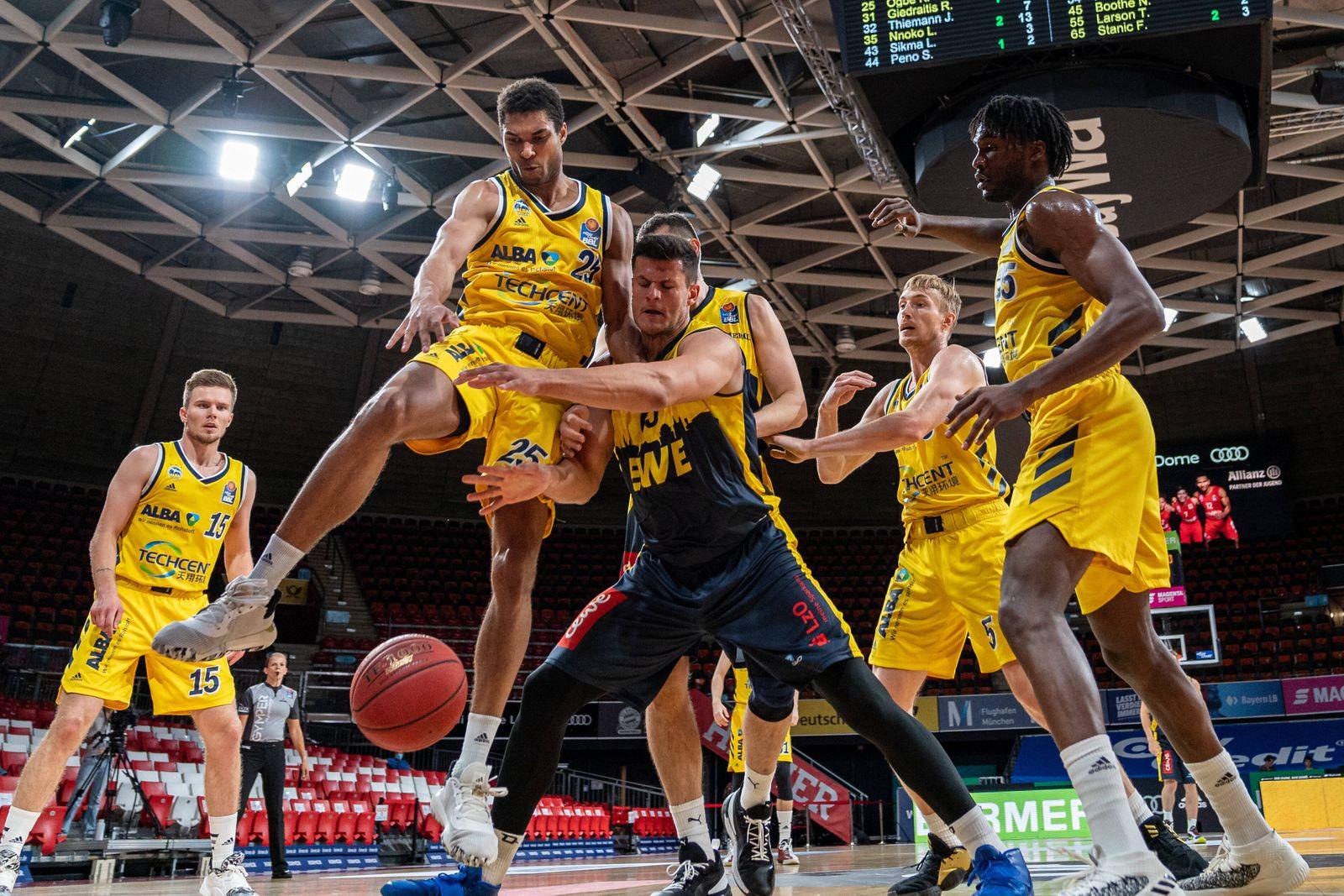 Sport Bilder des Tages 24.06.2020 Basketball easyCredit Final-Turnier Basketball München 24.06.2020 Saison 2019 / 2020 e