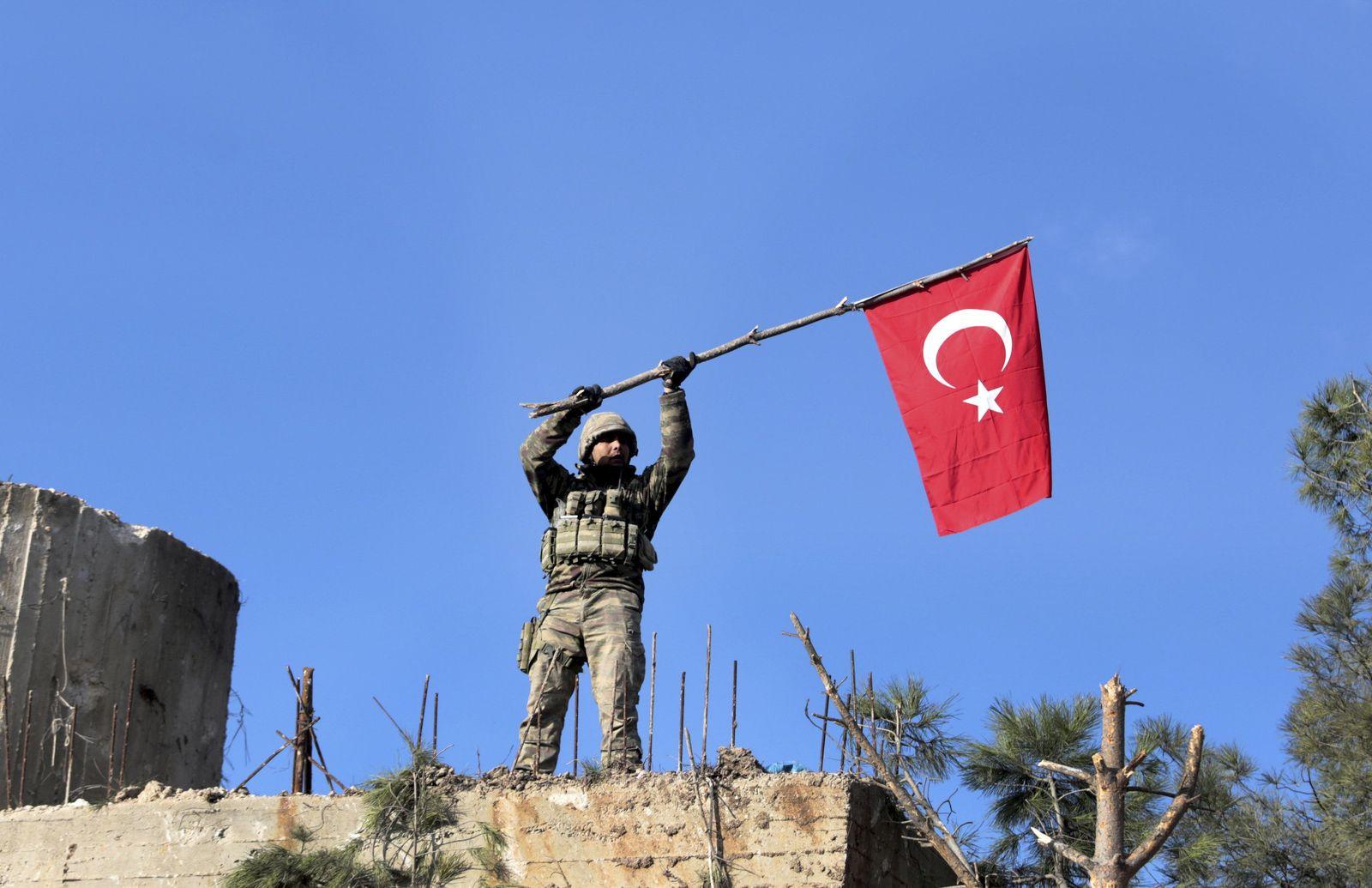 Syrien Afrin Türkei