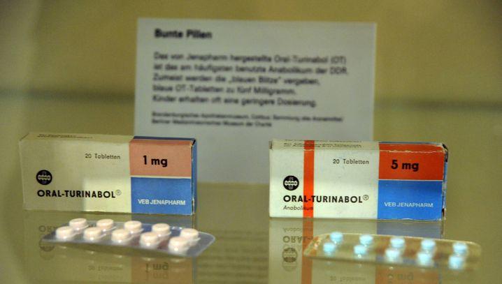 Oral-Turinabol: Die blauen Pillen, ein Anabolikum, kamen in der DDR selbst bei Kindern zur Anwendung