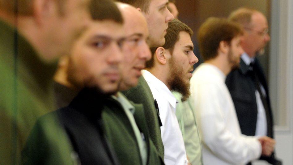 Angeklagte Selek, Schneider, Gelowicz: Langjährige Strafen erwartet