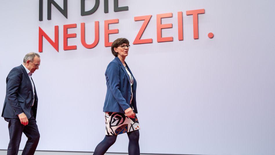 SPD-Spitzenduo: Zwei Vorsitzende machen noch keine Führung