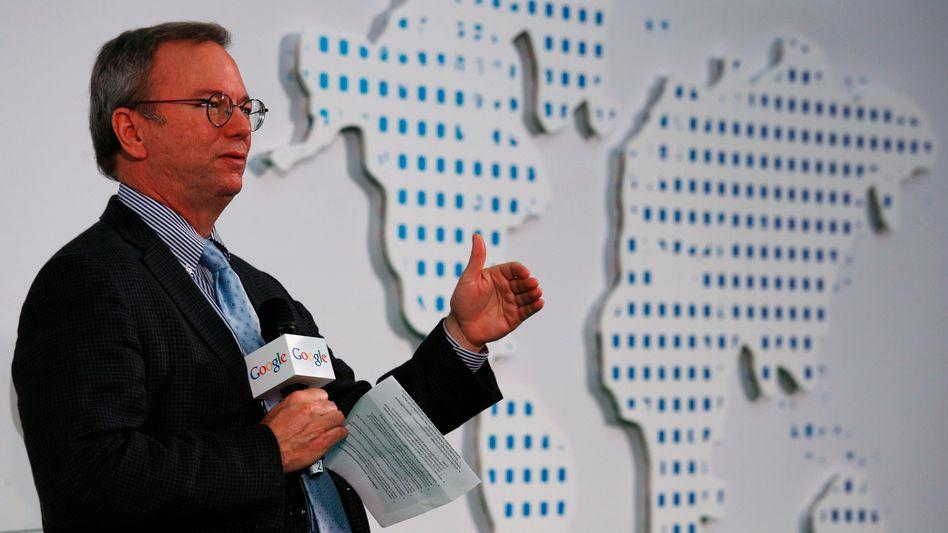 """Google-Verwaltungsratschef Eric Schmidt: """"Unsere Welt"""""""