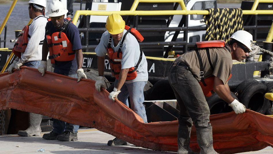 Bergungsarbeiten im Golf von Mexiko: Hohe Kosten für Ölgesellschaft