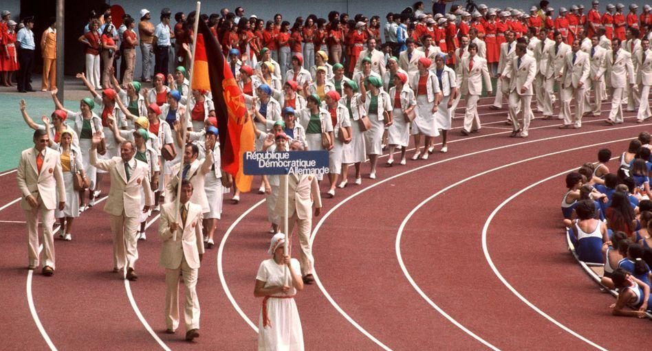 Siegen für den Sozialismus: Schon 1976 in Montreal kam das staatlich gesteuerte Doping im DDR-Sport zum Tragen