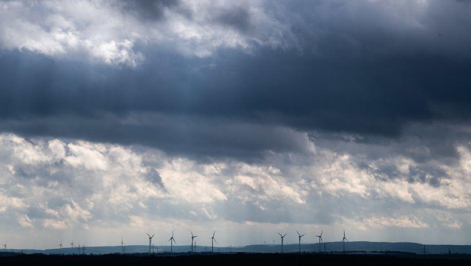 Dunkle Wolken drohen (Foto vom 11. März 2021)