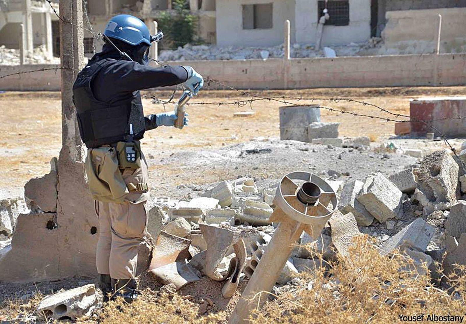 Syria UN Inspectors