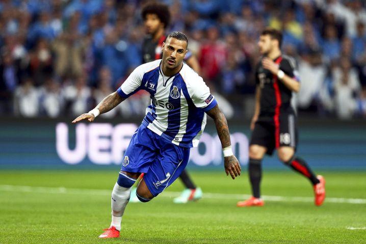 Doppelter Quaresma: Der Nationalspieler Portugals traf gleich zweimal gegen die Bayern.