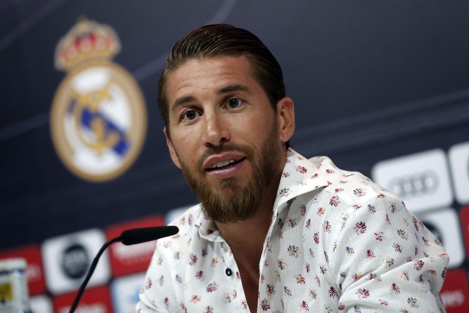 Press conference Sergio Ramos