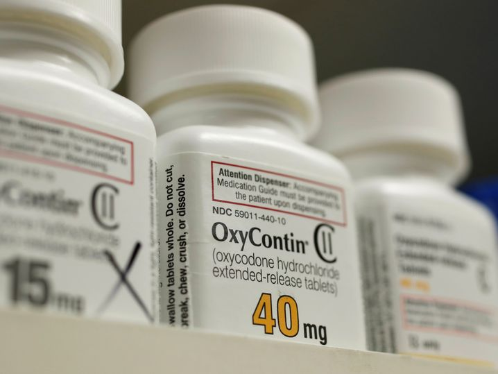 Oxycontin-Tabletten