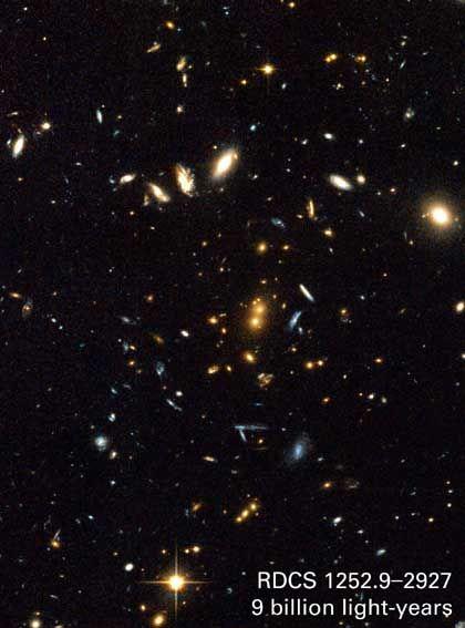 Verblüffend, dass das Hubble-Teleskop etwas da draußen sieht, das das bloße Auge nie erkennen würde