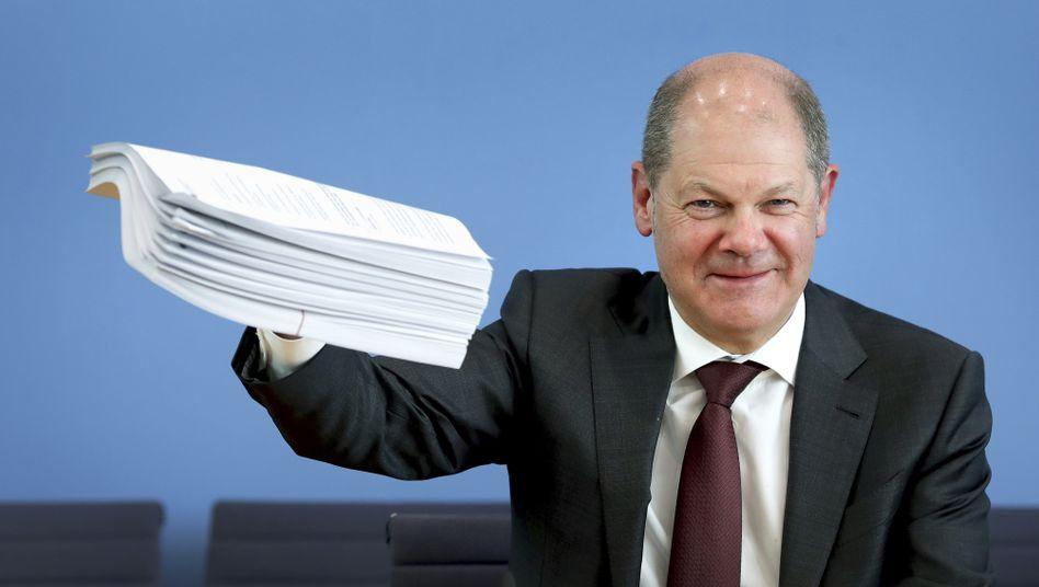 Olaf Scholz mit neuen Gesetzen: Bis Ende der Woche durch den Bundestag