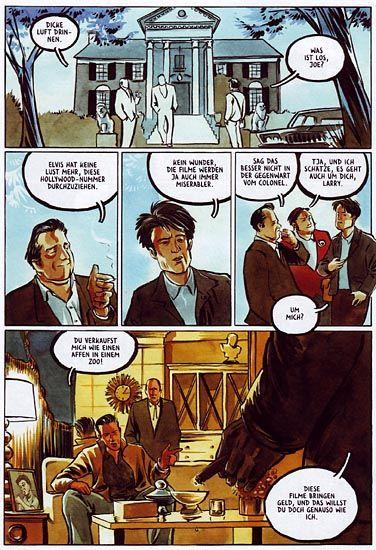 Elvis-Comic von Kleist: Nichts als Klischees