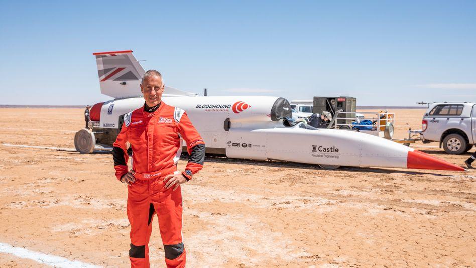 Andy Green ist bereits amtlich der schnellste Mann der Welt - jetzt will er es aber noch mal wissen