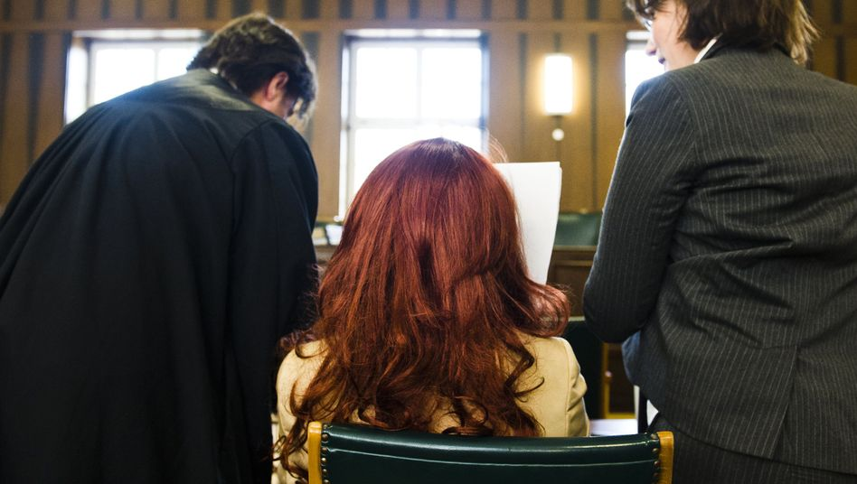 Angeklagte Heidi K. in Darmstadt: Widersprüchliche Aussagen