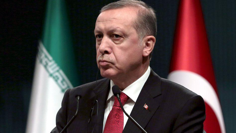 Poesieobjekt Recip Tayyip Erdogan