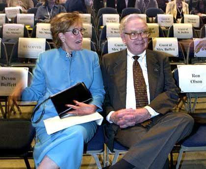 Bershire-Chef Buffett, Ehefrau Susan: Milliardengewinn durch fallenden Dollar