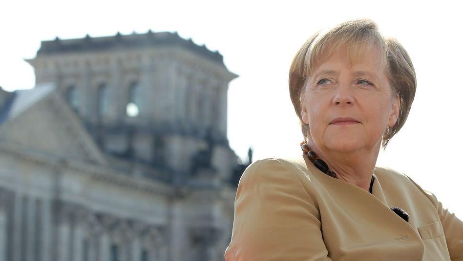 """Kanzlerin Merkel: """"Wir können offen darüber sprechen"""""""