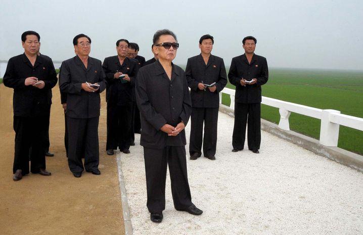 Nordkoreas Machthaber Kim Jong Il: Elf Asse auf einer Runde?