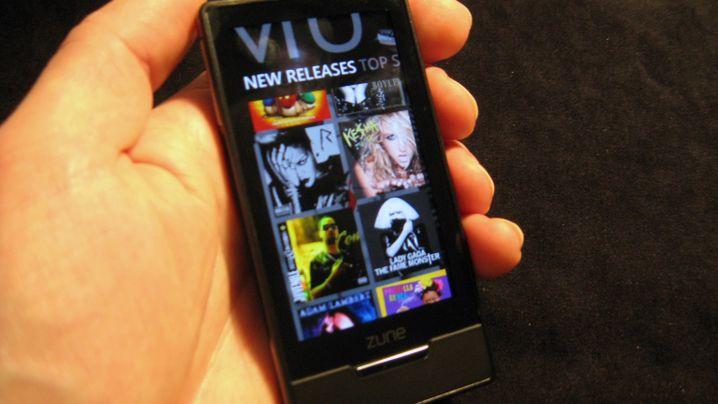Zune HD: Microsofts Antwort auf den iPod touch
