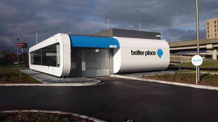 Akku-Tankstelle Better Place: Energiewende in Amsterdam