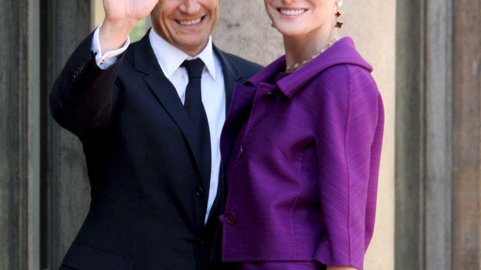 Frankreichs Präsident Sarkozy mit seiner Frau: Traditionelle Messung reicht nicht mehr aus