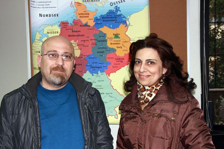 """Murhaf Kasuha und seine Frau Maschd al-Bitar: """"Kurs zur kulturellen Orientierung für Deutschland"""""""