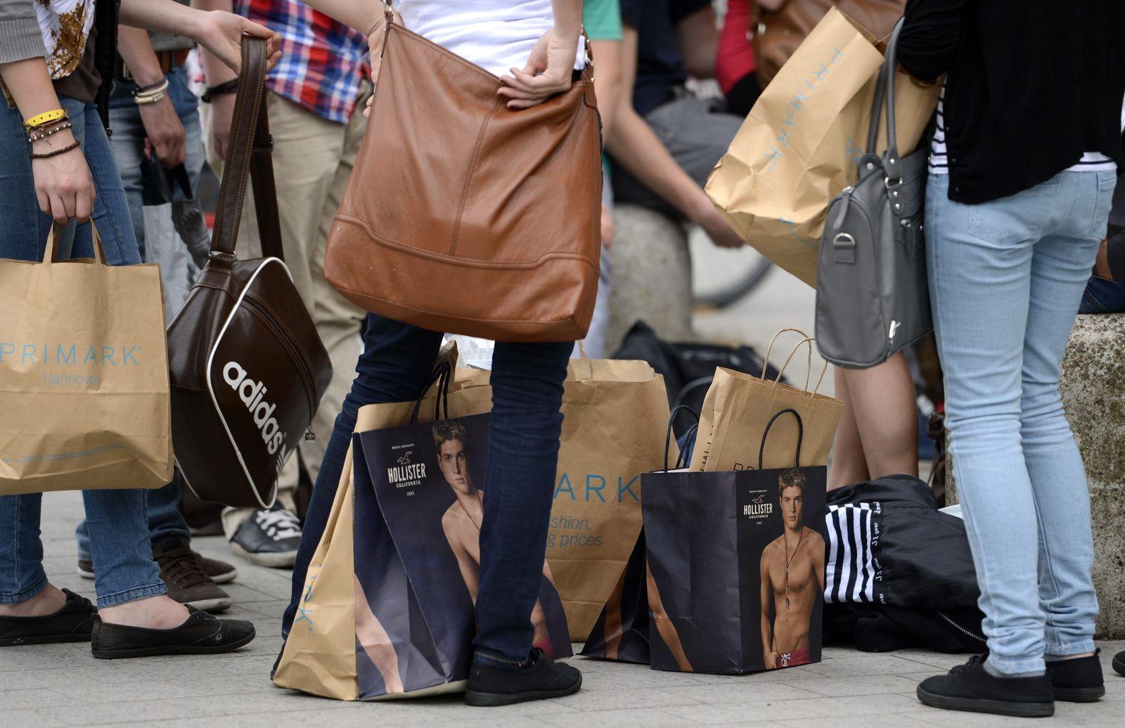 Konsum Verbraucher Kauflaune