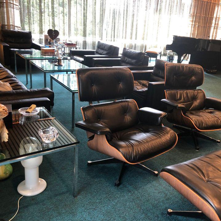 Geburtsort des MPS-Studios: Musikzimmer in der Villa Brunner-Schwer