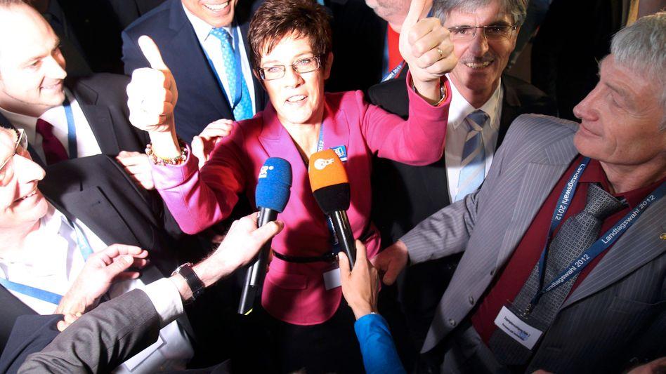 Reaktionen zur Saar-Wahl: Gabriel gibt Lafontaine Schuld für CDU-Wahlsieg