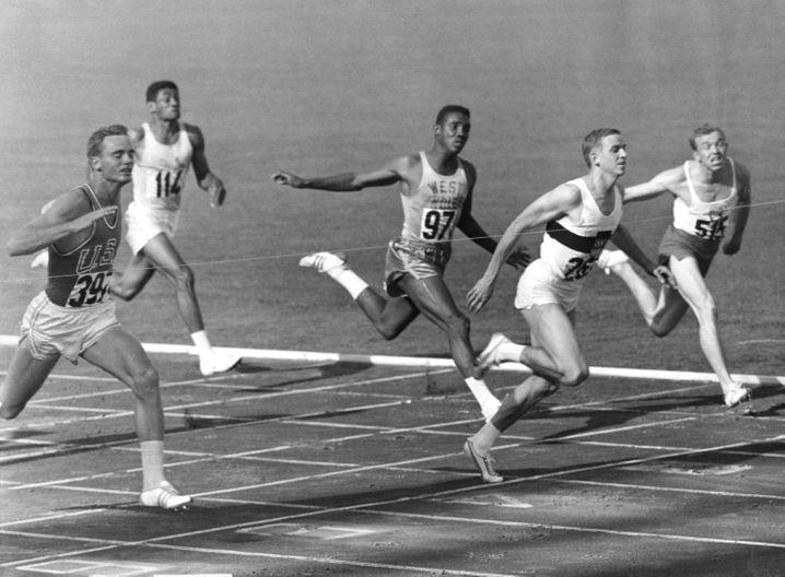 Armin Hary sprintet bei den Olympischen Spielen von Rom allen davon