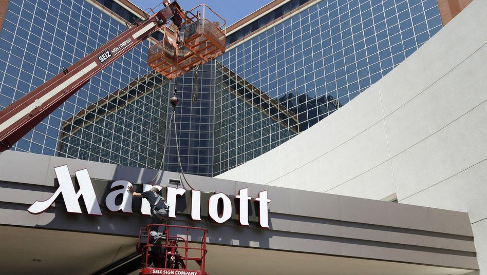 Marriott-Hotels werden von Kunden aus aller Welt besucht
