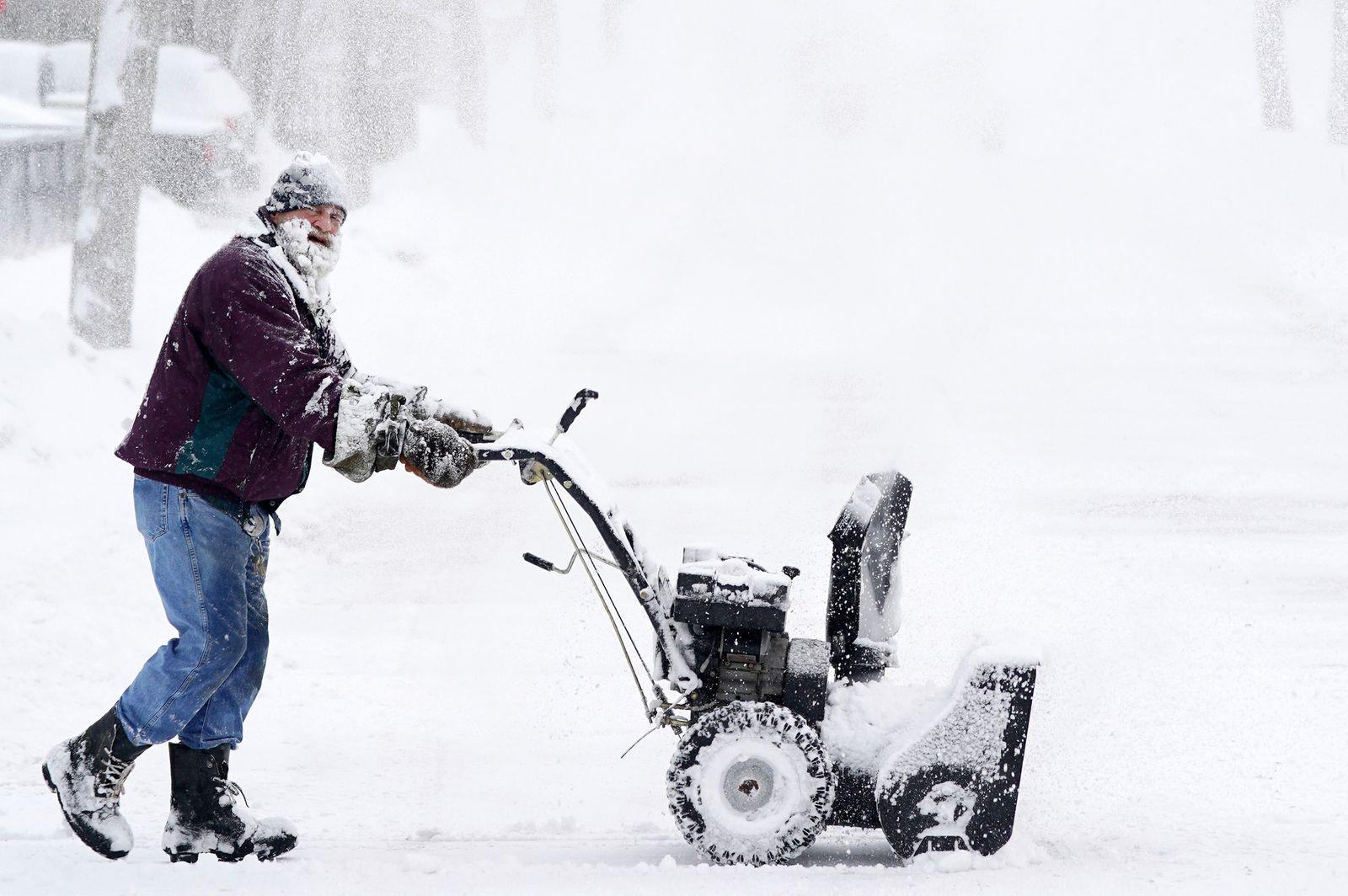 Winterwetter in den USA
