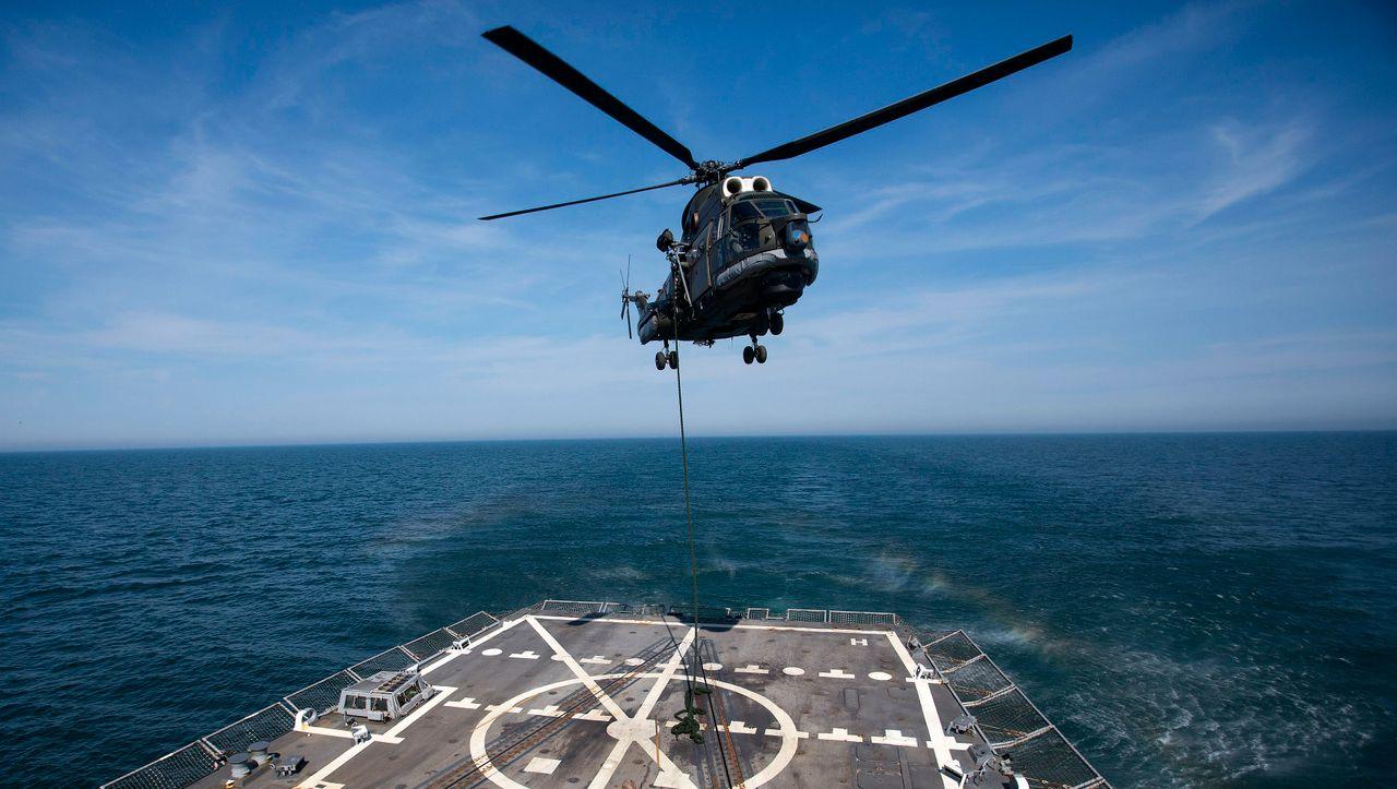 Einsatz am Mittelmeer: Nato-Hubschrauber von Radar verschwunden