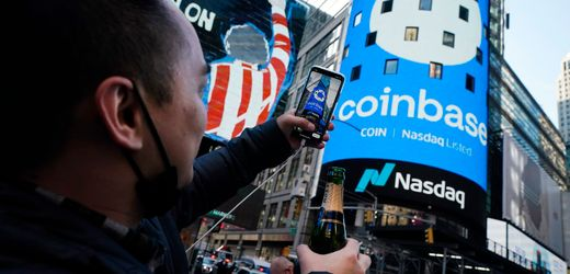 Coinbase: Kryptoplattform gibt fulminantes Debüt an der US-Börse