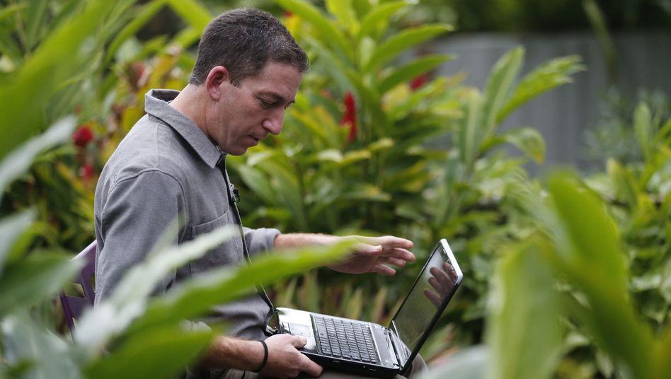 Der Journalist Glenn Greenwald in Rio de Janeiro