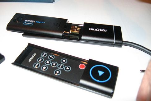 Internet-TV für den Wohnzimmer-Fernseher: Der Hersteller verspricht Bildqualität auf DVD-Niveau