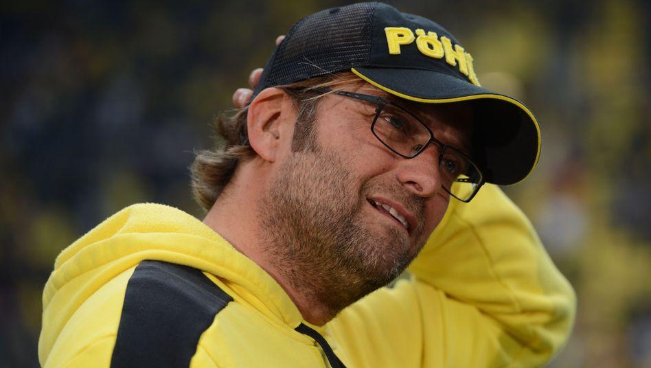 """Dortmund-Trainer Klopp (r.): """"Hätte schon gerne ein paar mehr Punkte"""""""
