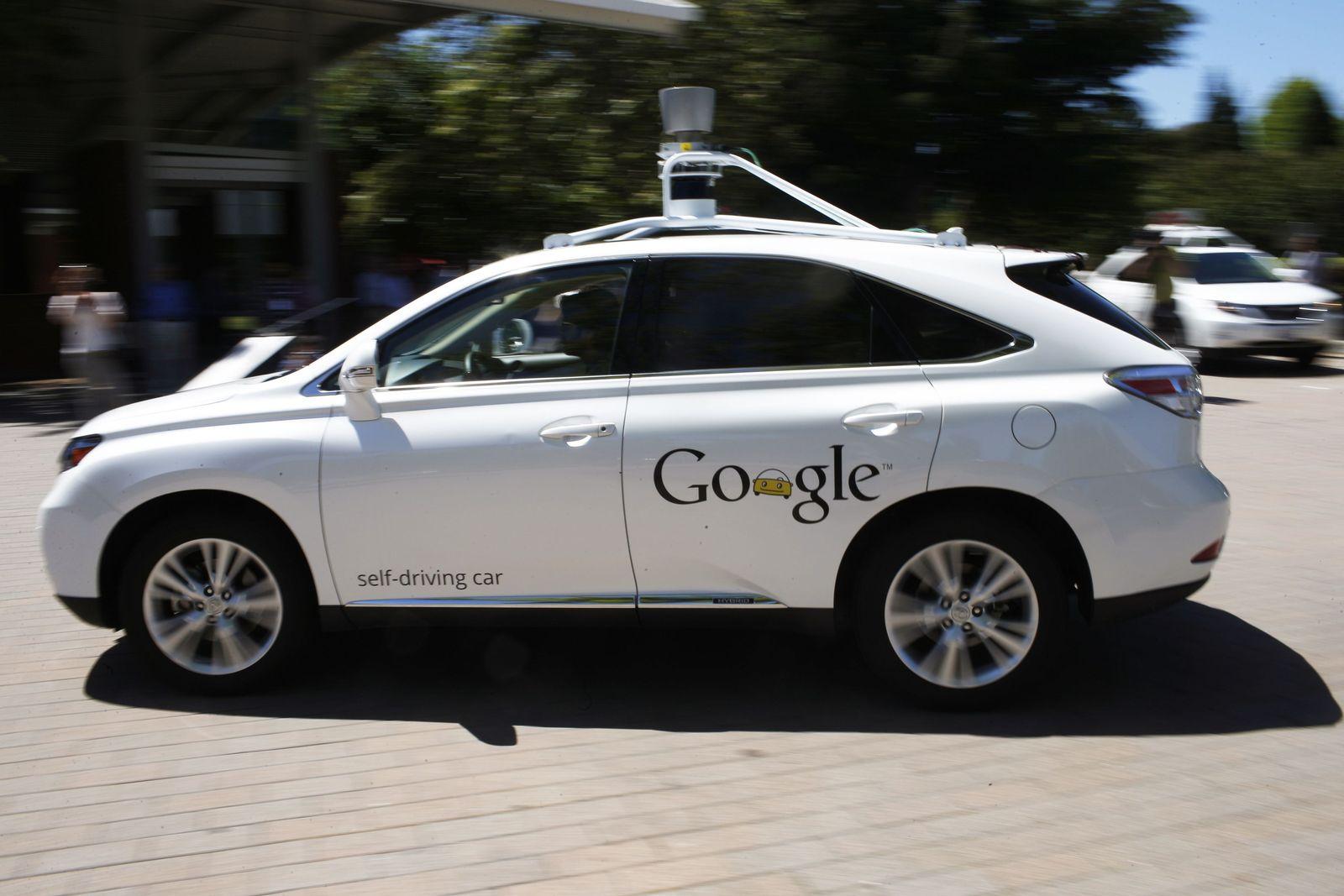 Google/ Self driving car/ selbstfahrendes Auto