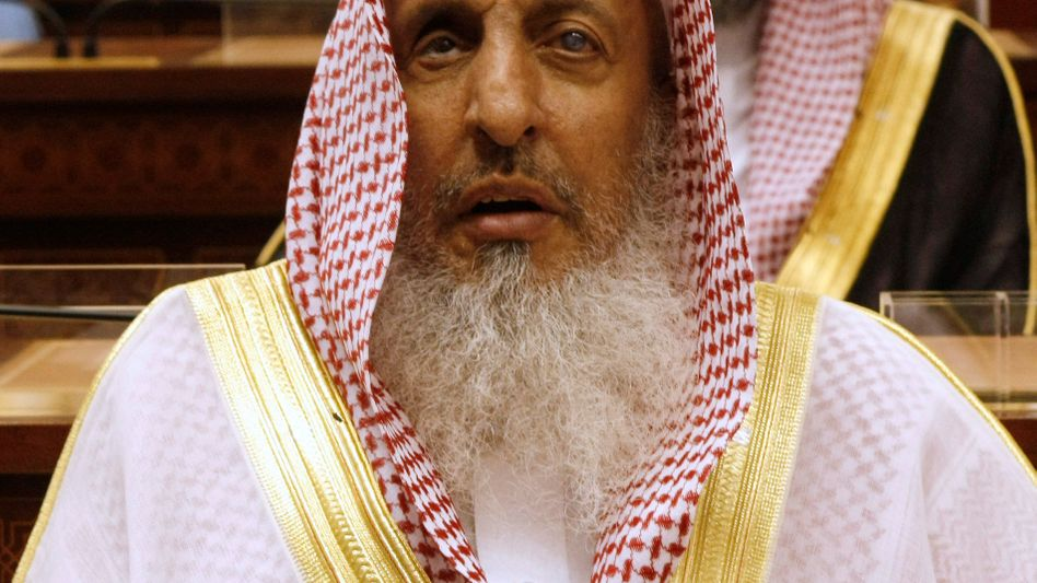 Saudi-Arabiens Großmufti Scheich Abdulaziz Al al-Sheikh (2009)