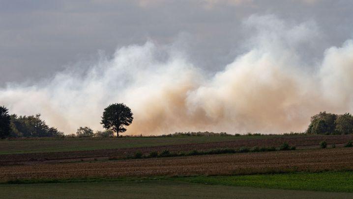 Moorbrand in Meppen: Das Dauerfeuer
