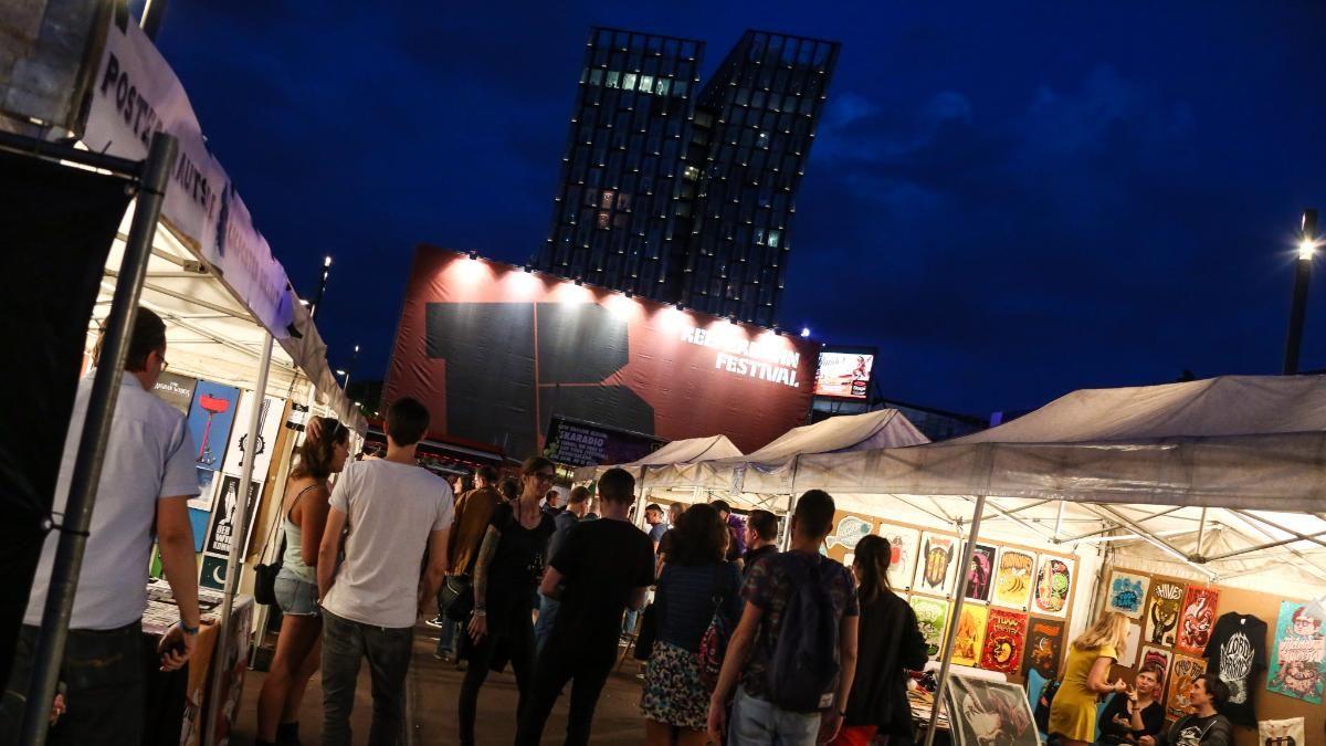 Reeperbahn Festival Nacht Tanzende Türme