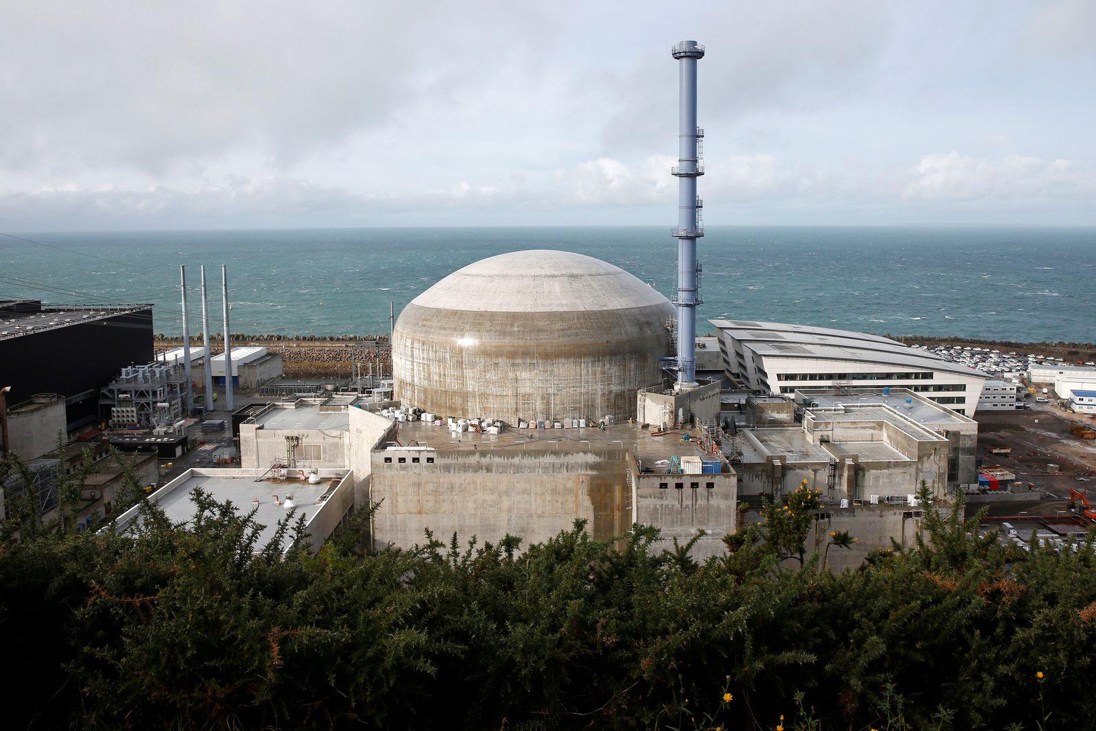 Frankreich / Atomkraft / Flamanville