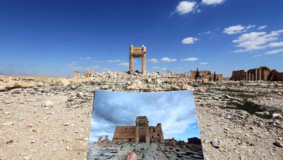 Der zerstörte Baal-Tempel
