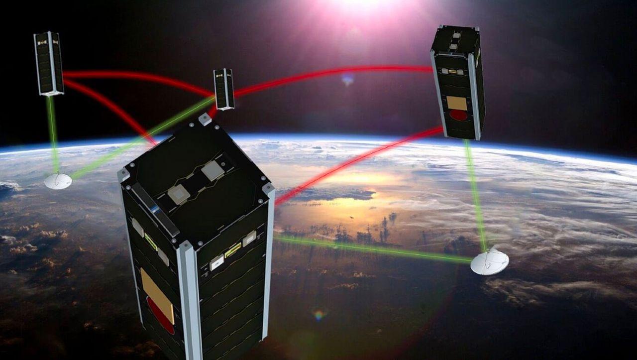 Satelliten mit Schwarm-Intelligenz - DER SPIEGEL -...