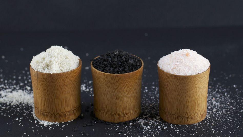 Verschiedene Salzsorten: Darf's ein bisschen mehr sein?
