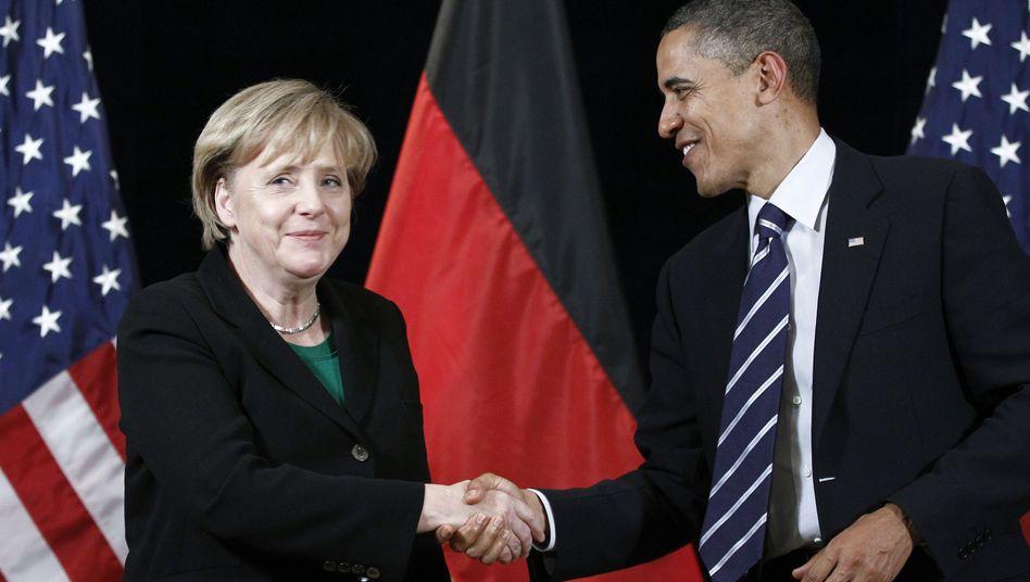 """Merkel und Obama: """"Wir sind nicht immer einer Meinung"""""""