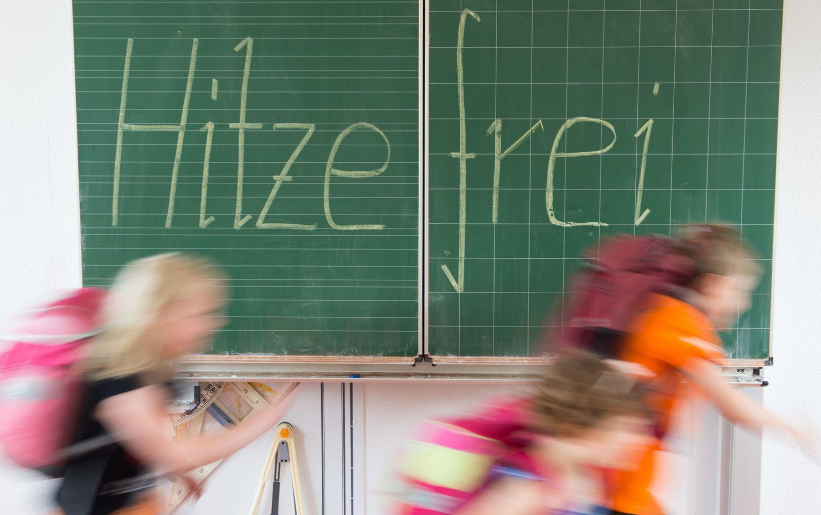Hitzefrei an NRW-Schulen - der Direktor entscheidet