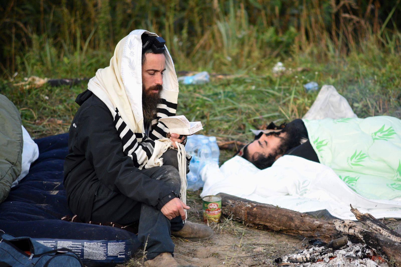 BELARUS-UKRAINE-ISRAEL-RELIGION-HEALTH-VIRUS