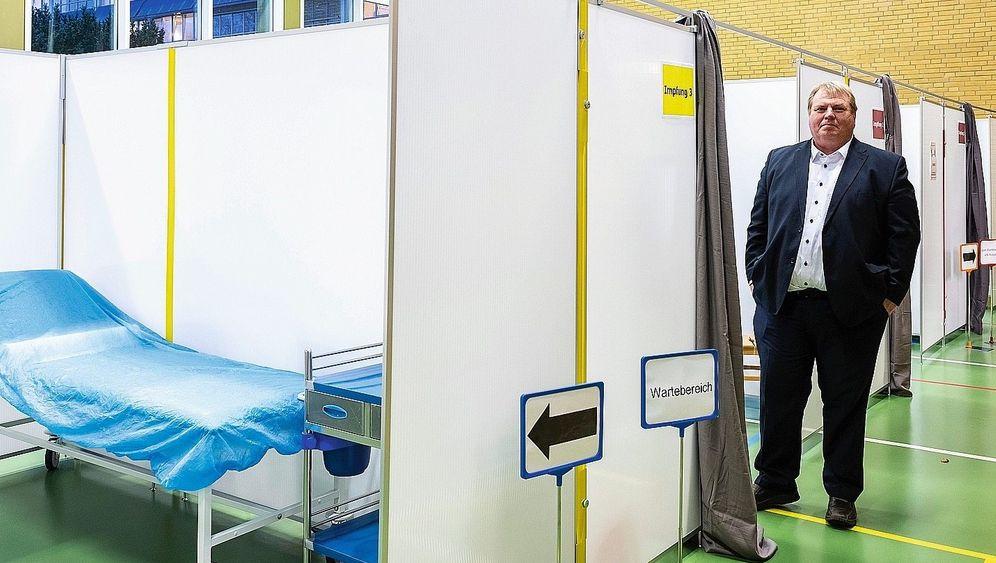 Organisationschef Rehberg in Großhansdorf:Wie aus dem Lehrbuch, nur menschenleer
