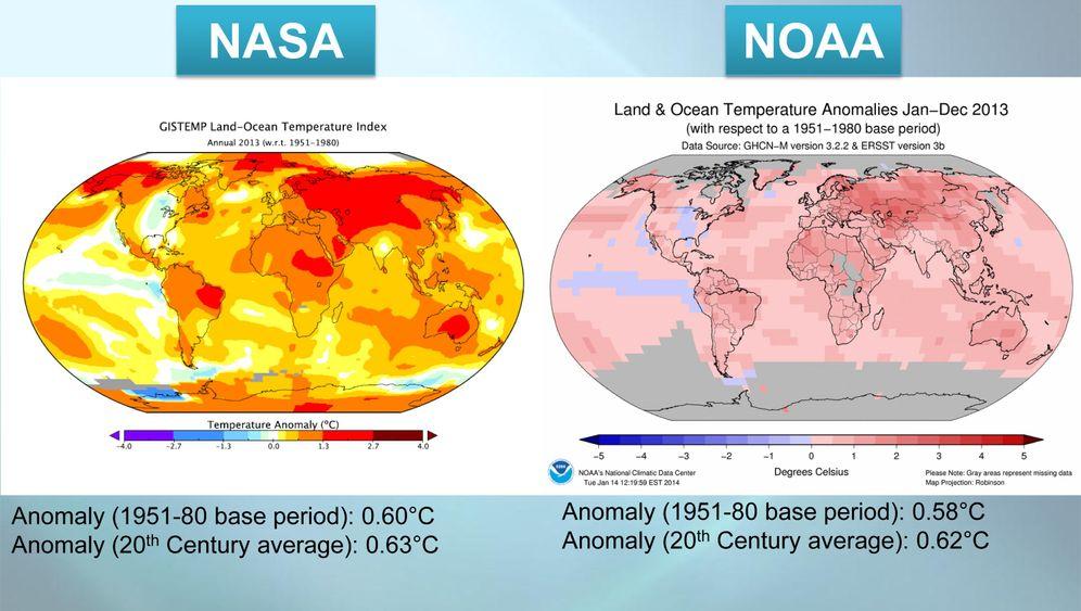 Grafiken zum Klimawandel: Wie sich die Erde wandelt